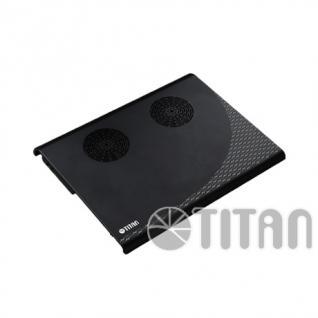 Titan® Aluminium Notebook Kühler TTC-G3TZ, Farbe: schwarz