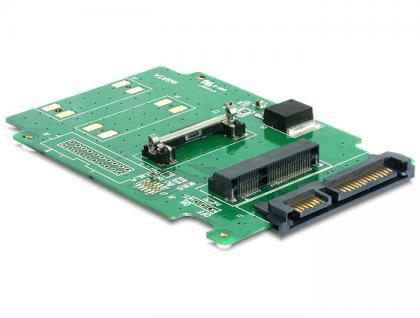 Konverter SATA 22 Pin an mSATA half size, Delock® [61715]