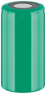Werkzeugakku, Ersatzakku für schnurlose Elektrowerkzeuge, Sub-C, PVC-Mantel, Flat-Top, 1, 2V, 2500mAh, Ni-MH