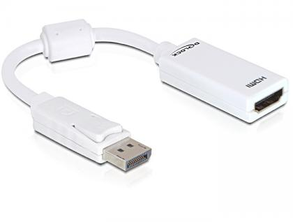 Adapter, Displayport Stecker an HDMI Buchse, Delock® [61767]