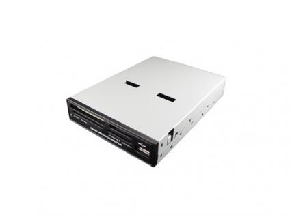 LogiLink® Cardreader 3, 5' USB 2.0 intern 54-in-1 mit USB Front [CR0005C]