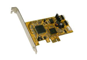 USB 2.0 PCI-Express Karte mit 4 Internen Ports (NEC), Exsys® [EX-11067]