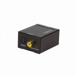 Analog L/R zu Koaxial und Toslink Audio-Konverter, LogiLink® [CA0102]