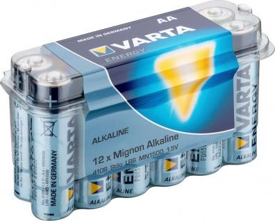 Varta® Batterie, (4106) Energy (Alkaline), LR6 (AA), Mignon, 1, 5V, 12er Box