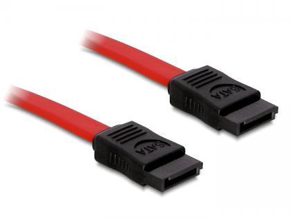 SATA Kabel 70cm gerade/gerade rot, Delock® [84209]