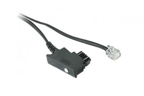 kabelmeister® Telefonanschlusskabel, TSS auf Modular Stecker 6/4, 10m