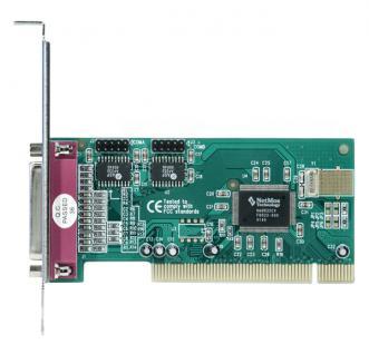 Longshine® LCS-6022 PCI I/O Controller 2 Port Serial 1 Port Parallel Card, optional low profile bracket
