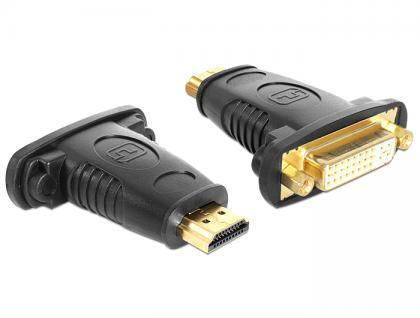 Adapter HDMI Stecker an DVI 24+5 Pin Buchse, Delock® [65467]