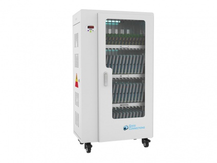 Good Connections® ANTARES T52 Tablet-Ladewagen, UV-C Desinfektion, grau