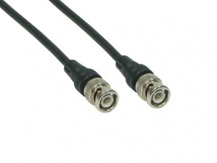 kabelmeister® BNC RG58 Netzwerkkabel, 50 Ohm, 1m