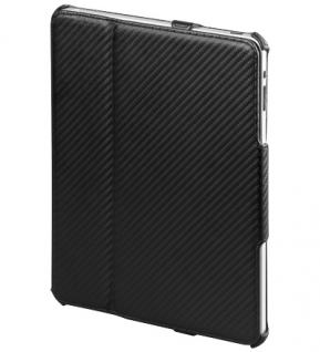 Klappetui für iPad im Carbonstyle mit Tischständerfunktion