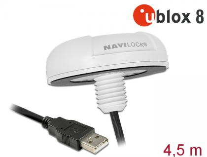NL-8022MU USB 2.0 Multi GNSS Empfänger, u-blox 8, 4, 5m , Navilock® [62532]