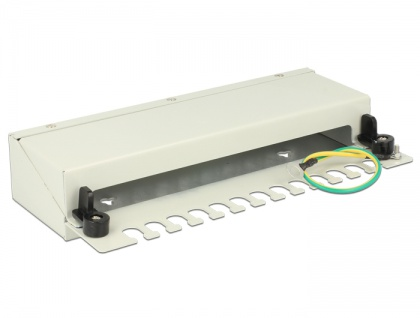 Desktop Patchpanel 12 Port grau, Delock® [43335]