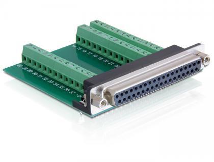 Adapter Terminalblock an Sub-D 37Pin Buchse , Delock® [65319]