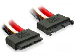 VerlängerungsKabel, Micro SATA Stecker an Buchse, 0, 3m, Delock® [84385]