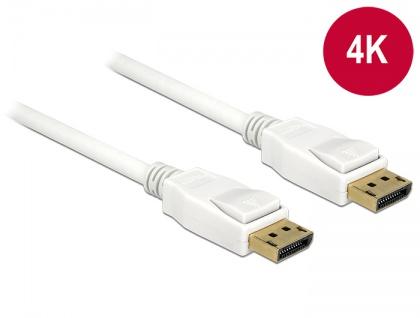 Kabel Displayport 1.2 Stecker an Displayport Stecker 4K 1m, Delock® [84876]