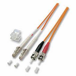kabelmeister® Patchkabel LWL Duplex OS2 (Singlemode, 9/125) LC/SC-APC, 10m