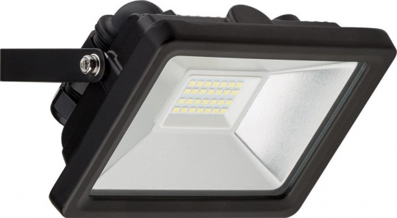 LED Außen-Flutlichtstrahler, 20W, 230V, 1650 lm, 6500K, (kaltweiß), nicht dimmbar, A+