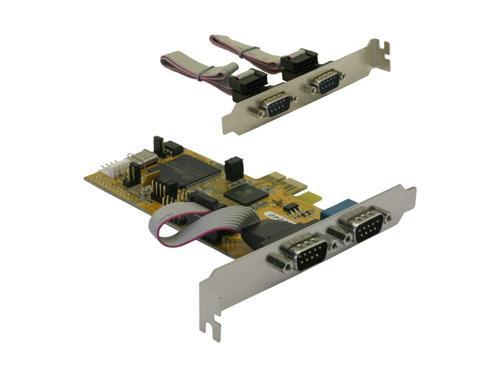 PCI Express x1 4 x seriell, Delock® [89178]
