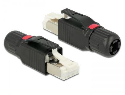 RJ45 Stecker, feldkonfektionierbar, Cat.5e PROFINET, Delock® [86465]