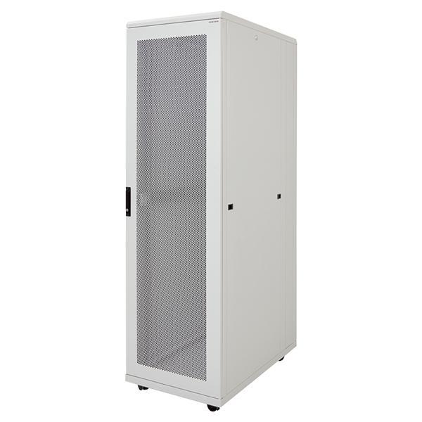 19' Server Standschrank, 42HE, 800x1000mm, grau, LogiLink® [S42S81G]