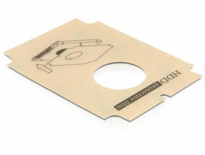Festplatten-Schutzfolie 2, 5' SATA, Delock® [65322]