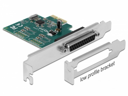 PCI Express Karte an 1 x Parallel IEEE1284, Delock® [90412]