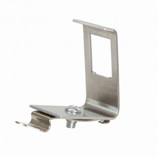 Hutschienenadapter für 1x RJ45 Keystone Module, Metall, LogiLink® [MP0051]