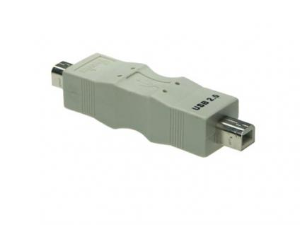 kabelmeister® USB Gender Changer B Stecker an B Stecker