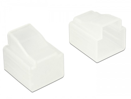 Staubschutz für RJ11 Stecker 10 Stück, transparent, Delock® [64017]