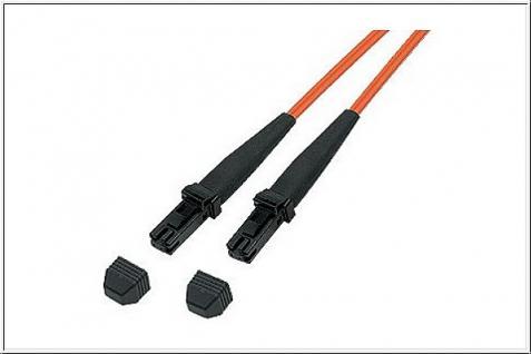 kabelmeister® Patchkabel LWL Duplex OM1 (Multimode, 62, 5/125) MT-RJ/MT-RJ, 2m