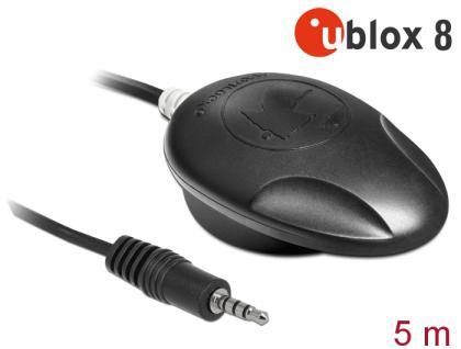 NL-8009T Klinke TRRS TTL Multi GNSS Empfänger, u-blox 8, 5m, Navilock® [62587]