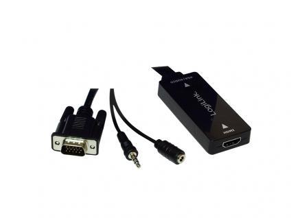 HDMI zu VGA mit Audio-Wandler, LogiLink® [CV0058]