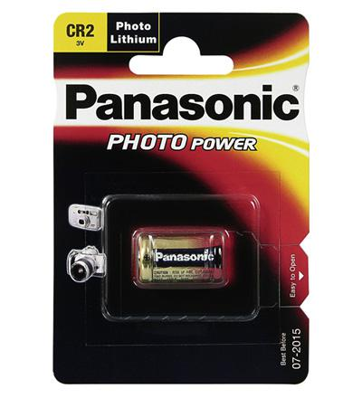 Panasonic® Batterie Lithium Photo für z.B. Kameras, CR 2 P; 1er Bliter