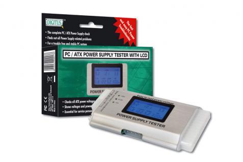 Digitus® ATX Netzteil-Tester mit LCD - Vorschau