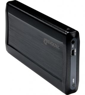 Revoltec® USB 2.0 Gehäuse fü 2, 5' SATA Festplatten 'Alu-Line EX205'
