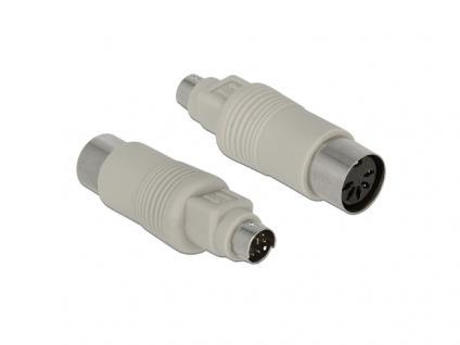 Adapter PS/2 Stecker an DIN 5 Pin Buchse, Delock® [65630]