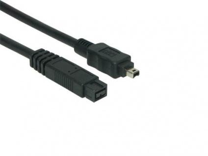 kabelmeister® FireWire IEEE1394b Anschlusskabel 9/4, 5m