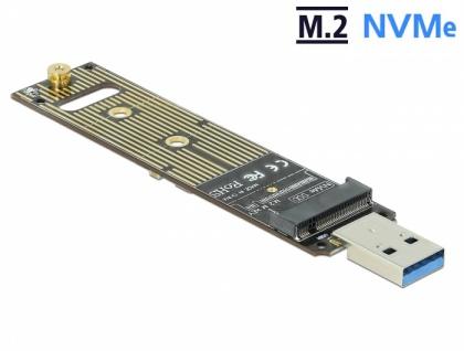 Konverter für M.2 NVMe PCIe SSD mit USB 3.1 Gen 2, Delock® [64069]