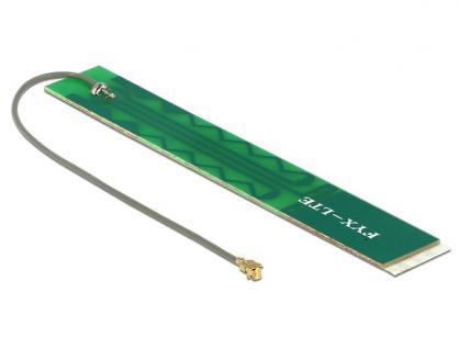 Antenne LTE MHF/U.FL-LP-068 kompatibler Stecker 2~3 dBi omni starr PCB, Delock® [88988]