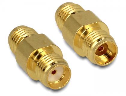 Adapter, HF, SMA Buchse an SMA Buchse, Delock® [88478]