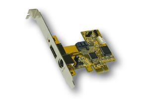 PCI-Express S-ATA 2 RAID 0/1 Controller, 1+1 Port, Exsys® [EX-3500]