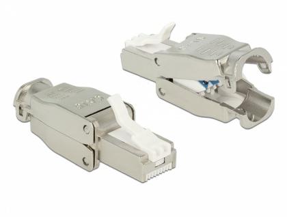 RJ45 Stecker Cat.6 STP werkzeugfrei, Delock® [86426]