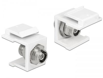 Keystone Modul FC Simplex Buchse an Buchse, Delock® [86372]