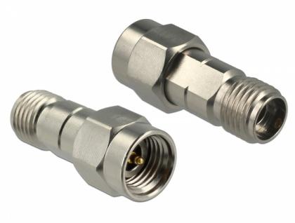 Adapter 2, 92 Buchse an 2, 92 Stecker 40 GHz, Delock® [65924]