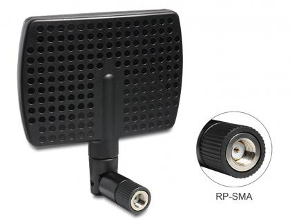 WLAN Antenne RP-SMA 802.11 a/b/g/n 5~7 dBi direktional Gelenk, Delock ® [88447]