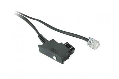 kabelmeister® Telefonanschlusskabel, TSS auf Modular Stecker 6/4, 15m