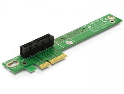 PCIe-Riser-Karte x4 90____deg; gewinkelt links, Delock® [89103]