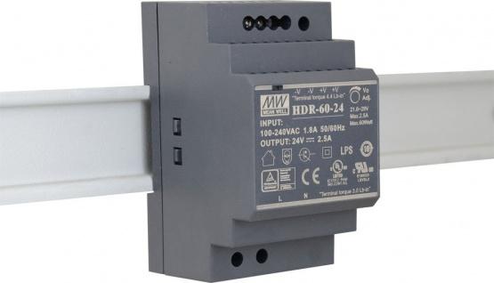 HDR-60-24 - Netzteil für EX-1186HMVS/1187HMVS/1187HMVS-WT/1196HMS/1197HMS (Output DC 24V/2, 5A/60W), Exsys® [EX-6973]