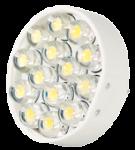 Power SMD-LED, 1, 1W, 12V, 40 lm, 3000K, (warmweiß), nicht dimmbar, A+, 120____deg; Abstrahlwinkel